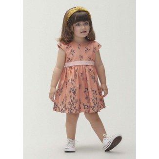 Vestido Infantil Hering Estampado Menina