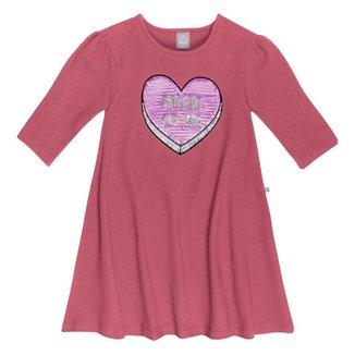 Vestido Infantil Hering Heart