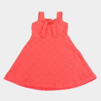 Vestido Infantil Kiko & Kika Laise Com Laço