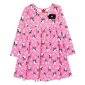 Vestido Infantil Kyly Cotton Feminino
