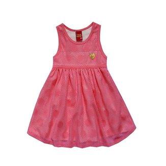 Vestido Infantil Menina Modelagem Evasê Kyly