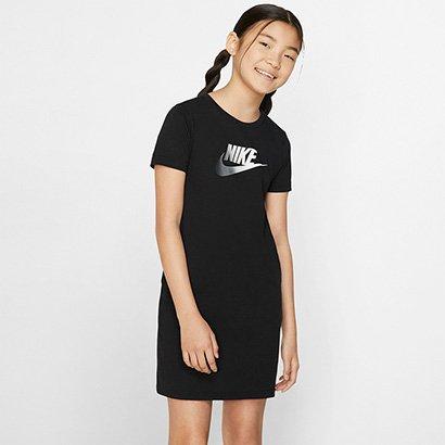 Vestido Infantil Nike G Nsw Tshirt Dress Futura Feminino