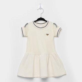 Vestido Infantil Pulla Bulla Cotton Tela