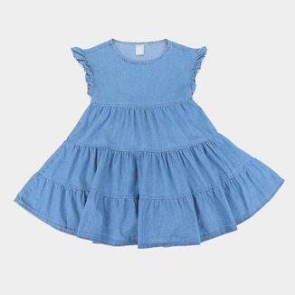 Vestido Infatil Hering Babados