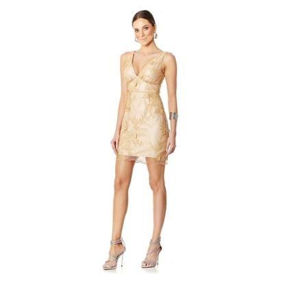 Vestido Lala Dubi Curto Aplicações Butterfly Feminino - Feminino