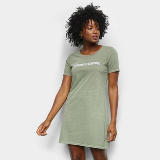 Vestido Lecimar T-Shirt Different Is Beautiful