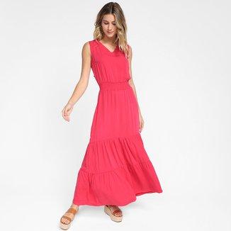 Vestido Longo Cambos Elastex Feminino