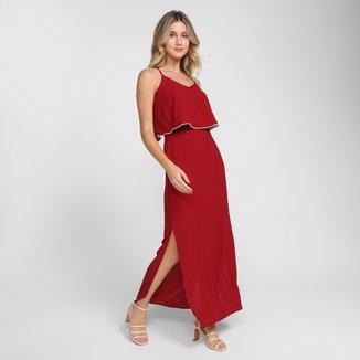 Vestido Longo Top Modas Core Fenda
