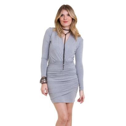 Vestido Manola Plissado Feminino