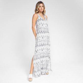 Vestido Marialicia Longo Core Estampado