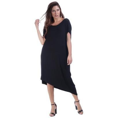Vestido Midi Amazzonia Vital Assimétrico Feminino