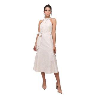 Vestido Midi de Linho