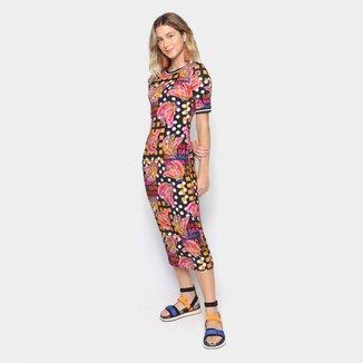 Vestido Midi Farm Bananatic Feminino