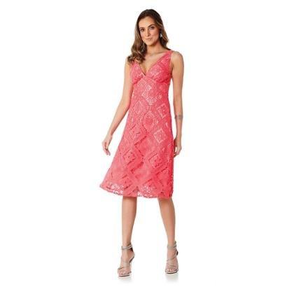 Vestido Midi Lala Dubi - Feminino