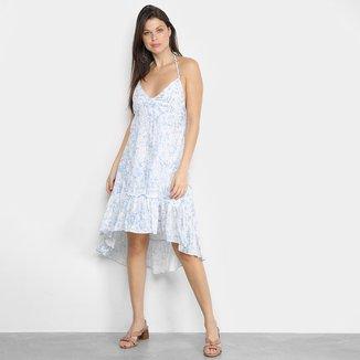 Vestido MS Fashion Babado