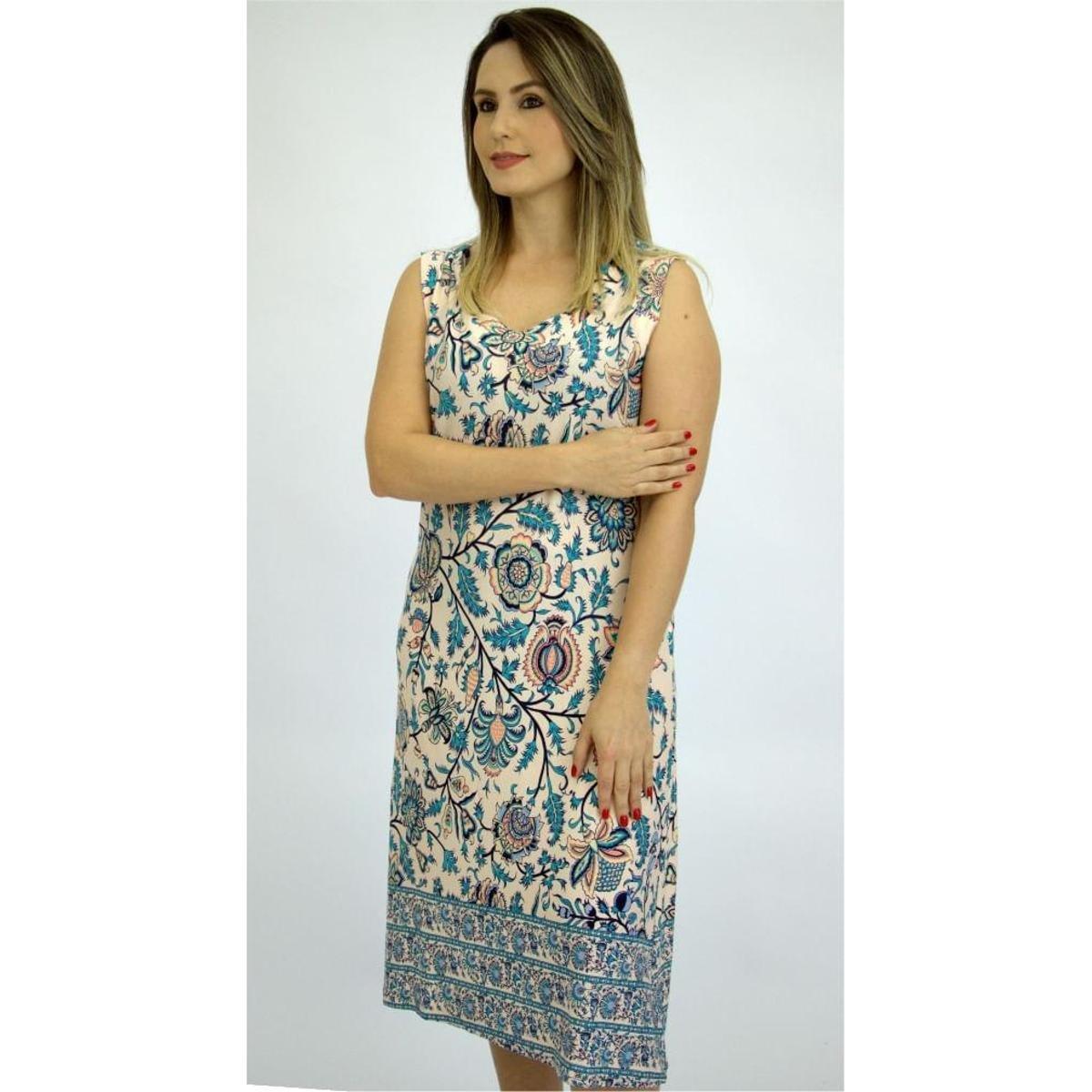 3ceda38a0 Vestido Pau a Pique Estampado Feminino - Compre Agora