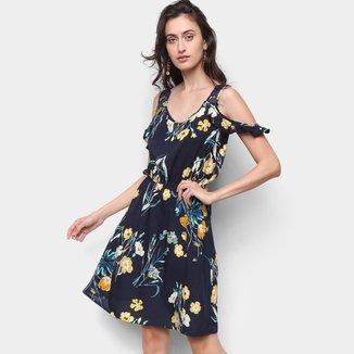 Vestido Pérola Curto Floral Feminino