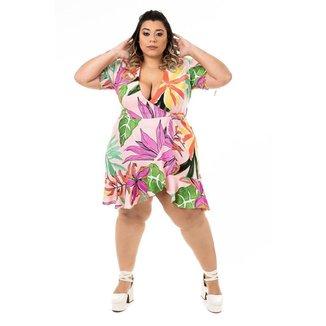 Vestido Plus Size Brio Romance Feminino