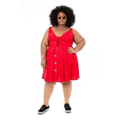 Vestido Plus Size Brio União Feminino