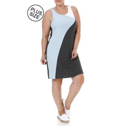 Vestido Plus Size Lunender-Feminino