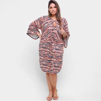 Vestido Plus Size Maelle Curto