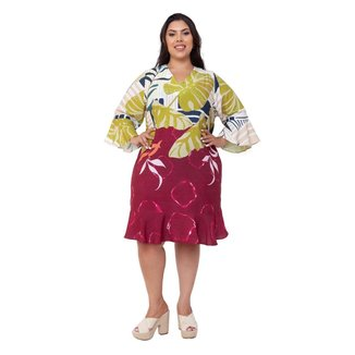 Vestido Plus Size Mais na Moda Plus Claudia