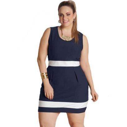 Vestido Plus Size Quintess Angie Feminino