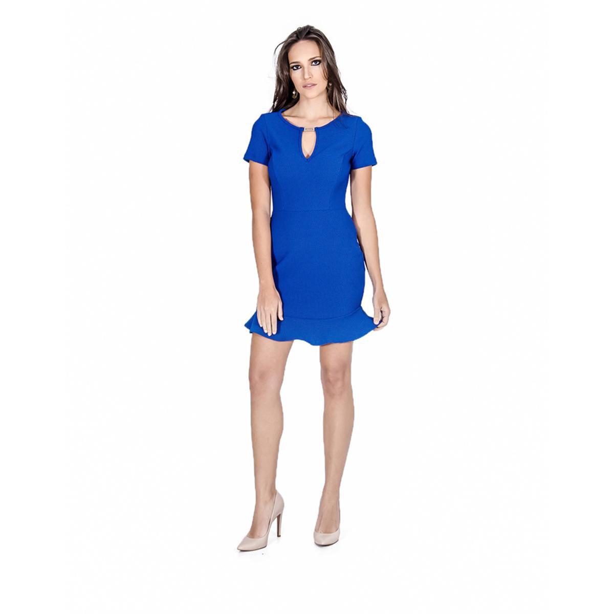 362fd5bad Vestido Sino Colcci - Azul - Compre Agora   Zattini