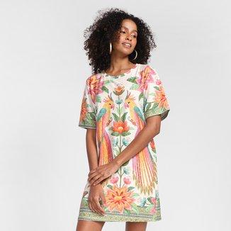 Vestido T-Shirt Farm Araris Feminino