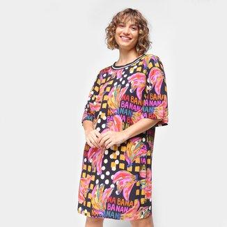 Vestido T-Shirt Farm Bananatic Feminino