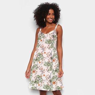 Vestido The Style Box Evasê Curto Floral