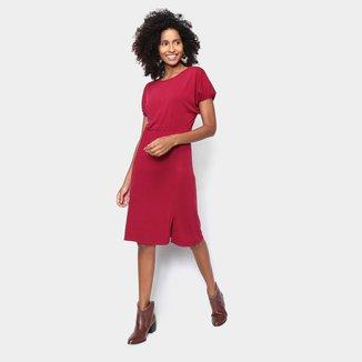 Vestido Volare Tshirt Dress Fenda Feminino