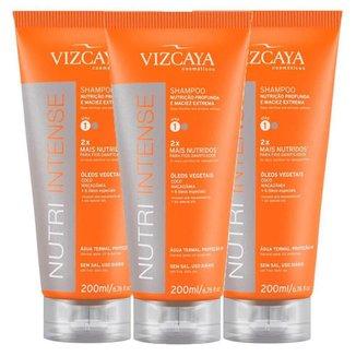 Vizcaya Nutri Intense Kit - 3 Shampoos Kit