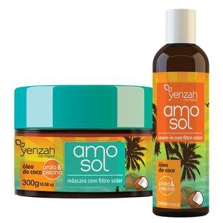 Yenzah Amo Sol Kit - Leave-In + Máscara Ultra hidratante Kit