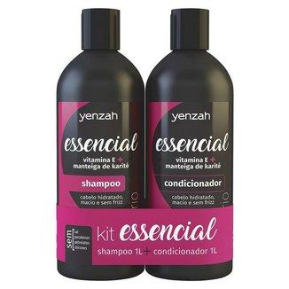 Yenzah Essencial Kit - Shampoo + Condicionador Kit