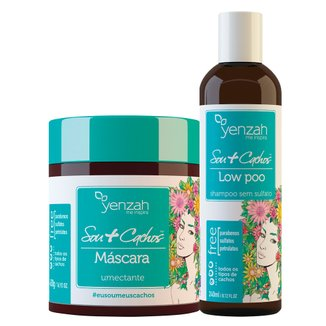 Yenzah Sou + Cachos Kit - Shampoo  + Máscara Kit